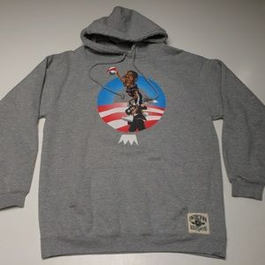 Undercrwn Barack Obama Posterize Basketball Hoodie